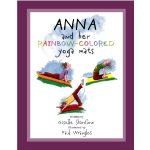 Anna and her Rainbow Colored Yoga Mats Image