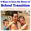 Ways to Ease the Stress of School Transition