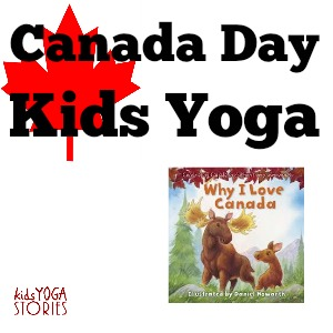 Canada Day Kids Yoga