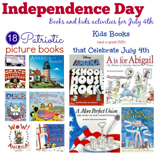 Celebrate Independence Day with books and kids activities >> compiled by Kids Yoga Stories