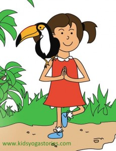 jungle kids yoga story