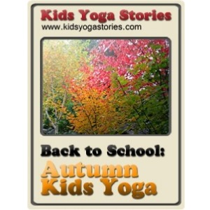 Autumn Yoga coloring page by Kids Yoga Stories