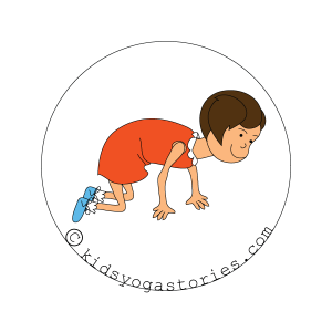 cat Pose kids yoga stories