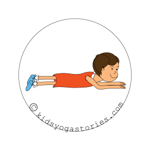 Cobra Pose for kids - kids yoga stories