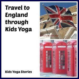 England yoga idea for kids | Kids Yoga Stories