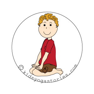 hero Pose kids yoga stories