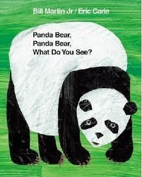 panda bear panda bear by bill martin jr and eric carle