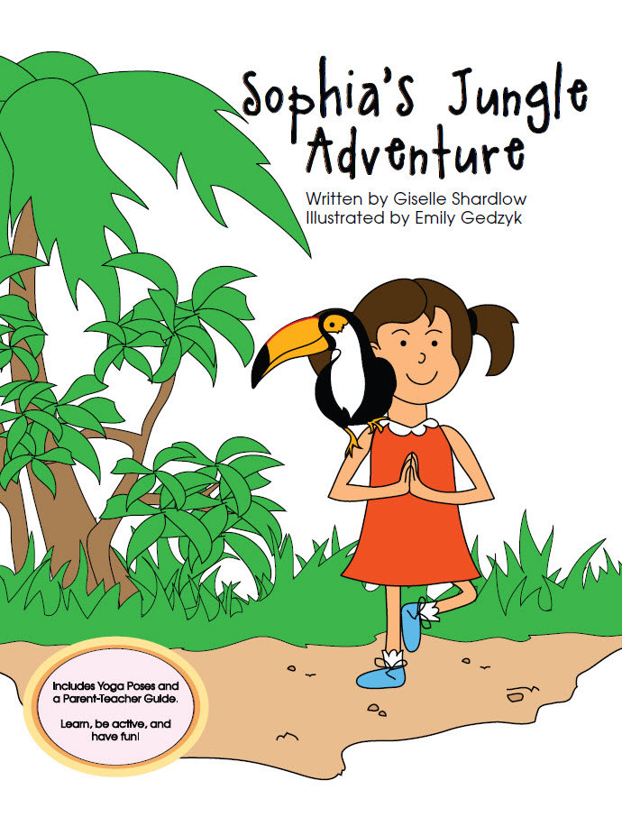Sophia's Jungle Adventure yoga book