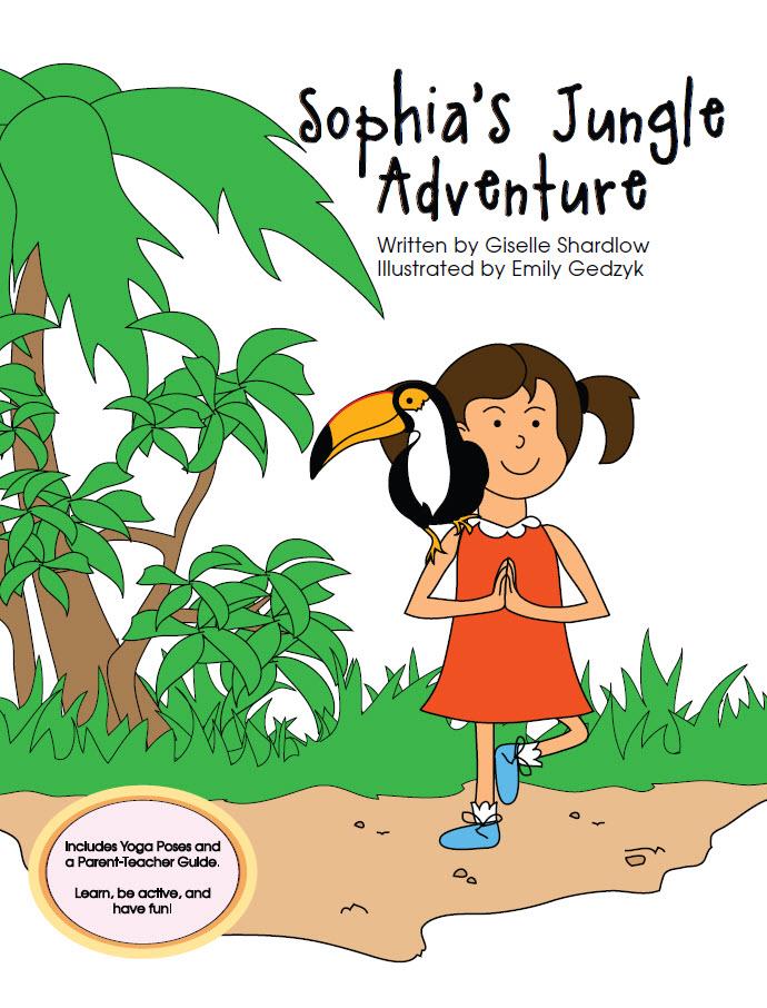 Sophia's Jungle Adventure yoga book