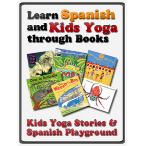 Learn Spanish and Kids Yoga through Books | Kids Yoga Stories
