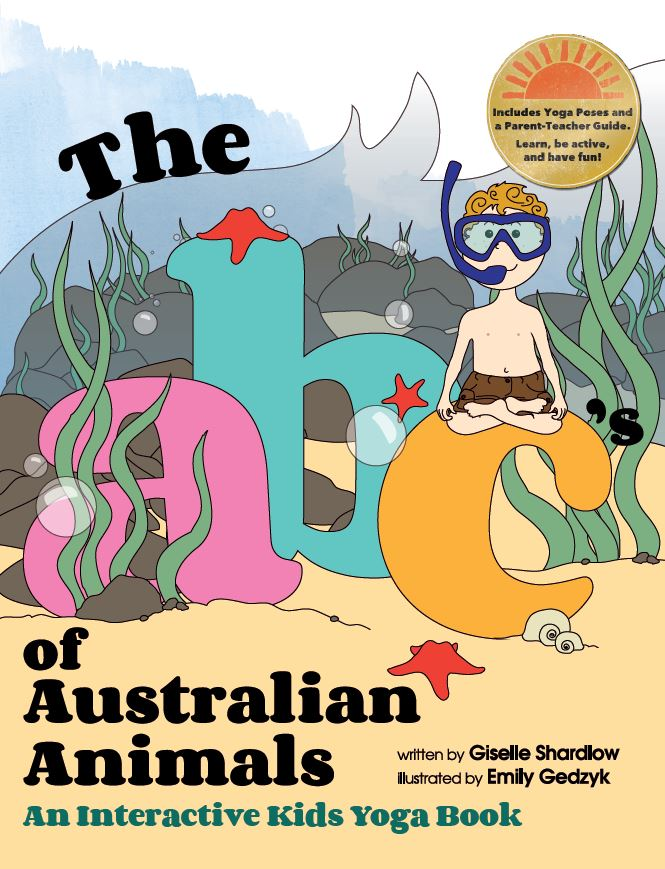 The abc's of Australian Animals. abcs and yoga, teaching kids yoga | Kids Yoga Stories