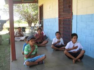 nicargua kids yoga easy pose