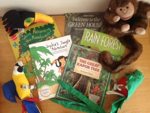 rainforest kids yoga birthday resources