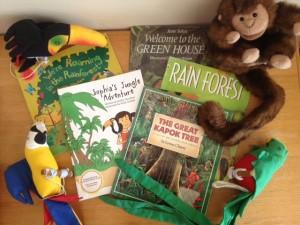 rainforest kids yoga birthday resources
