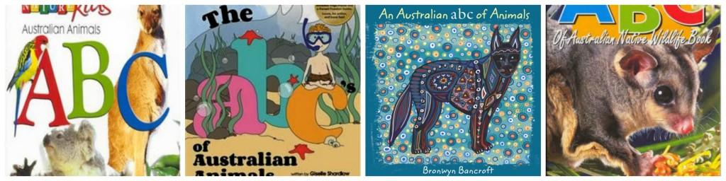 Australian Animals Alphabet Books