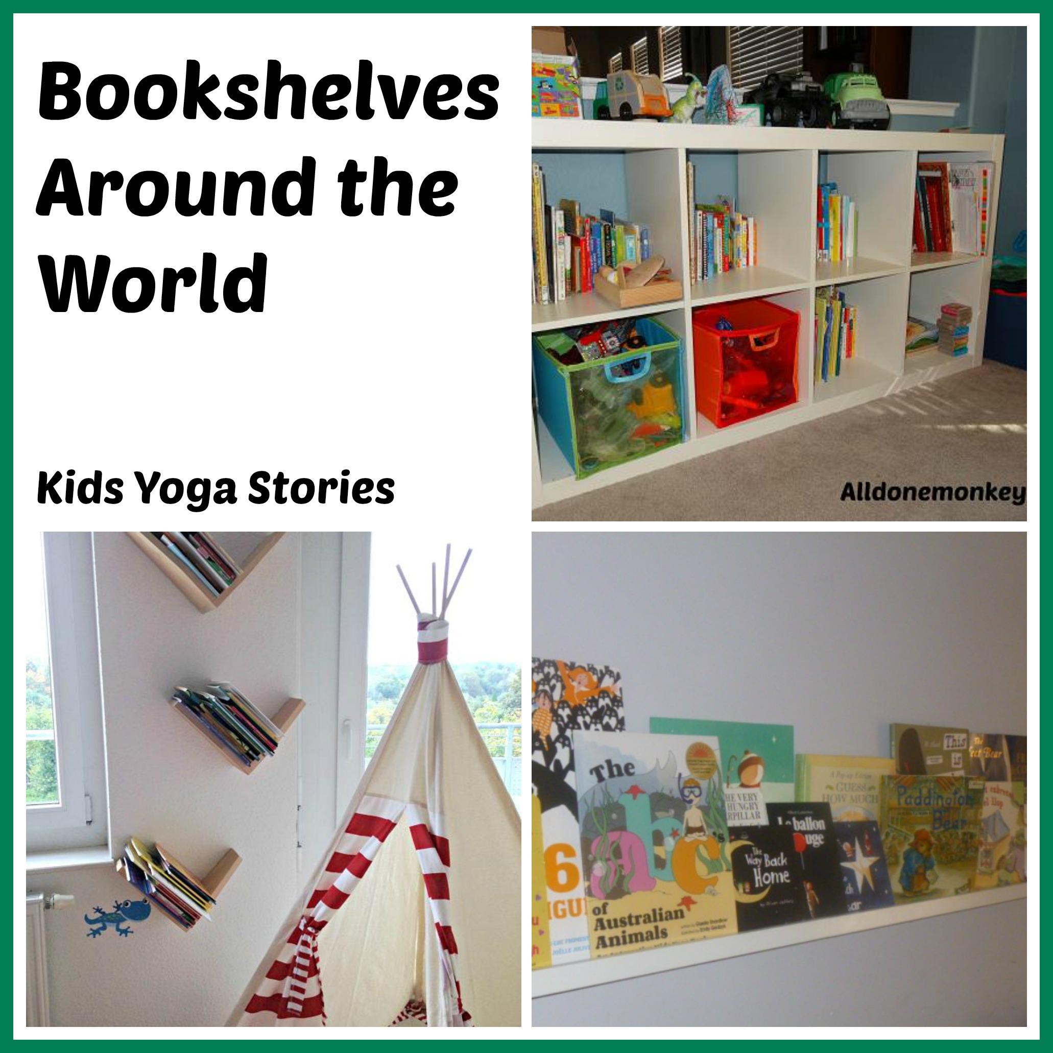 Bookshelves around world