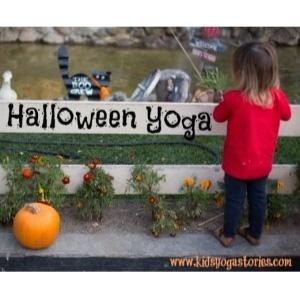 Halloween-Yoga