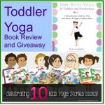 Toddler Yoga Book Review and Giveaway