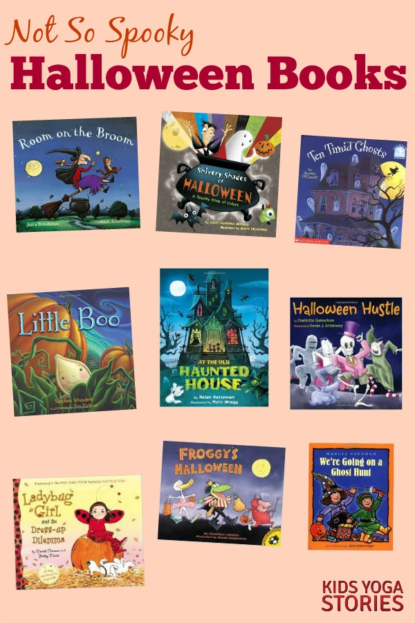 Not so spooky Halloween Books for kids | Kids Yoga Stories