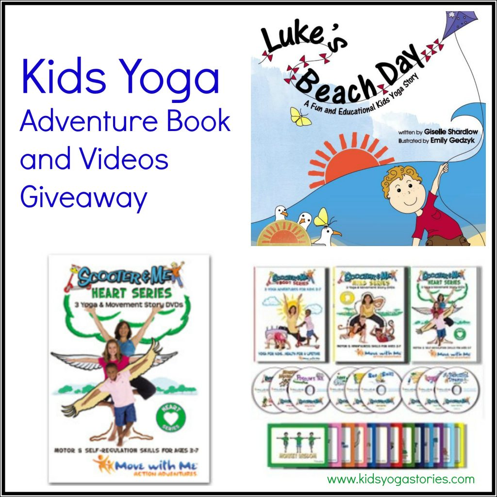 Kids Yoga Adventure Videos Review And Giveaway