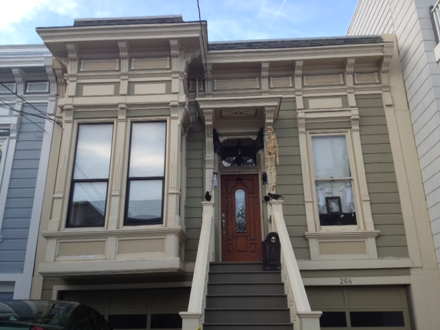 neighborhood house in San Francisco