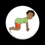Cow Pose Kids Yoga