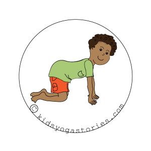 Cow Pose Kids Yoga
