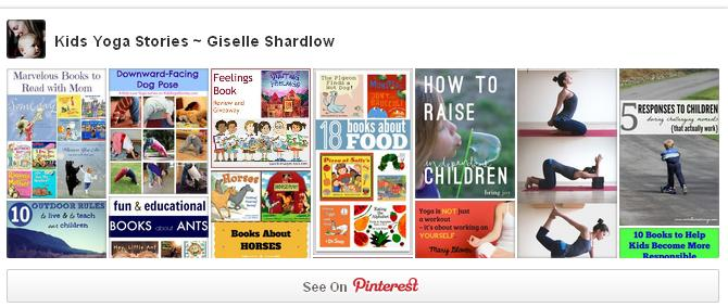 Follow Kids Yoga Stories on Pinterest