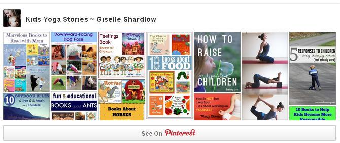 Follow Kids Yoga Stories on Pinterest