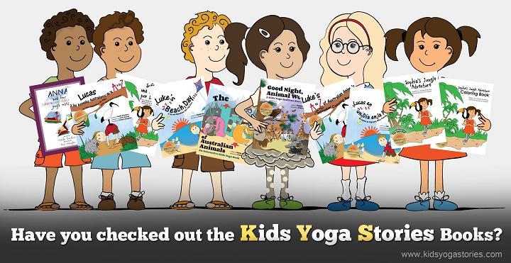 Kids Yoga Stories books