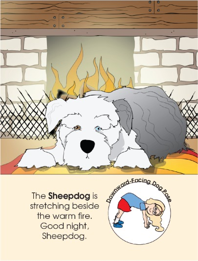 Good Night, Animal World bedtime book by Kids Yoga Stories