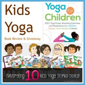 Kids Yoga Book