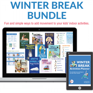 winter break activities bundle | Kids Yoga Stories