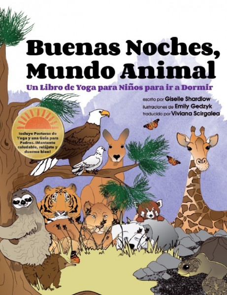 Buenos Noches, Mundo Animal | Giselle Shardlow, Kids Yoga Stories