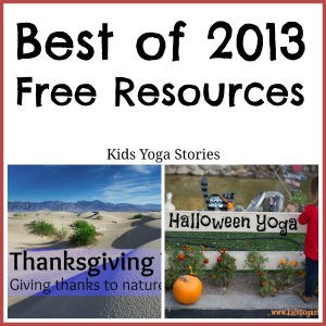 Free Resources by Kids Yoga Stories