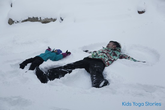 Snow Angels by Kids Yoga Stories