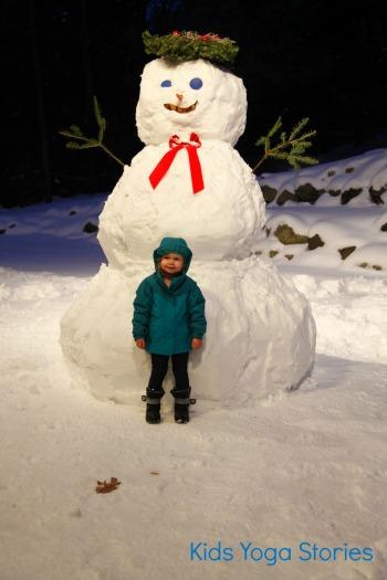 Snowman by Kids Yoga Stories