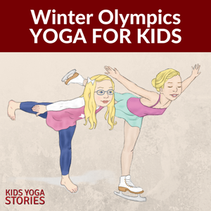 photo relating to Printable Olympics Tv Schedule identify Wintertime Olympics Yoga (Printable Poster) - Young children Yoga Studies