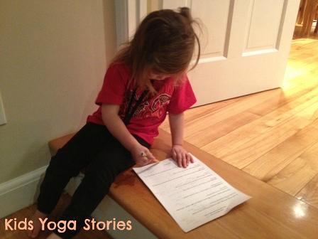 Editor of Kids Yoga Stories