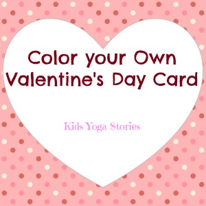 Download your free Valentine's Day Card from Kids Yoga Stories