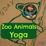 Learn about zoo animals with these easy yoga poses for kids by Kids Yoga Stories