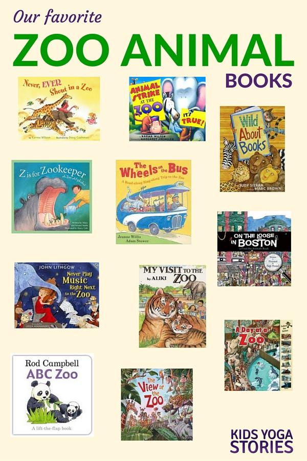 Zoo Animal Books for Kids | Kids Yoga Stories