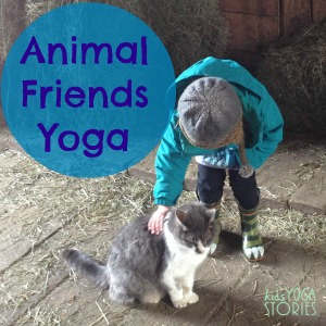 Easy yoga poses inspired by pets | Kids Yoga Stories