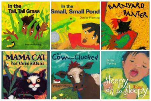 Our Favorite books by Denise Fleming >> Kids Yoga Stories