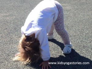 Downward Facing Dog Pose by Kids Yoga Stories