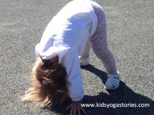 Downward Facing Dog Pose by Kids Yoga Stories