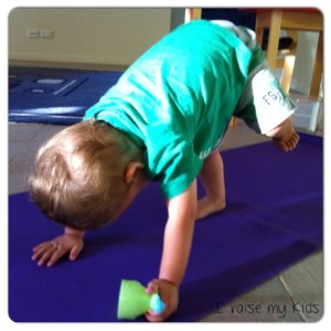 Downward Facing Dog Pose by I raise my kids