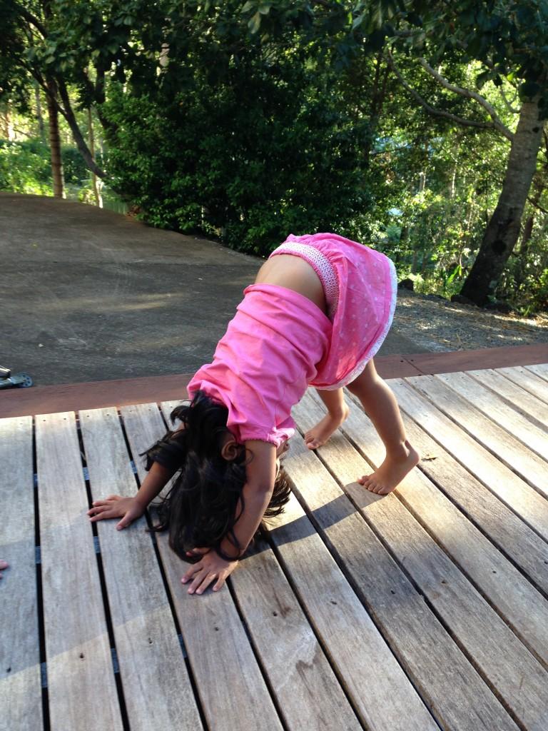 How To Do Downward Facing Dog Pose Kids Yoga Stories