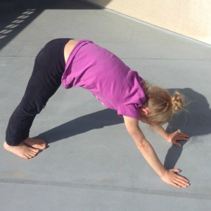 Downward Facing Dog by Janice