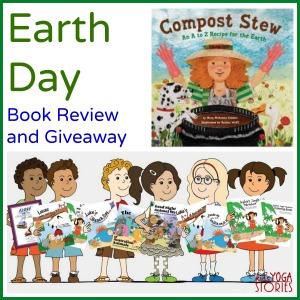 Earth Day Book Review and Giveaway >> Kids Yoga Stories